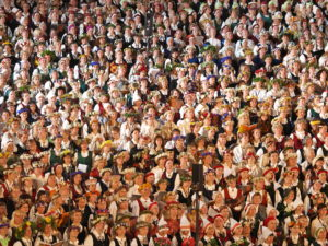 Das Abschlusskonzert des Sängerfests (Dainis Matisons / Wikipedia).